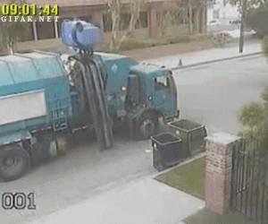 Trudne życie śmieciarza