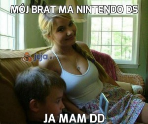 Mój brat ma Nintendo DS