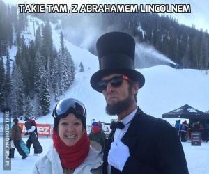 Takie tam, z Abrahamem Lincolnem