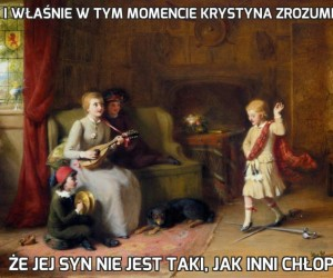 I właśnie w tym momencie Krystyna zrozumiała