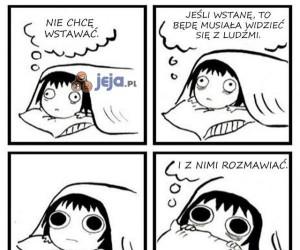 Nie chcę wstawać