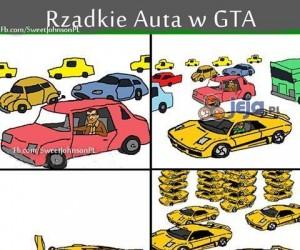 Rzadkie auta w GTA