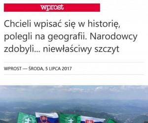 Tym razem Słowacy, nie Polacy