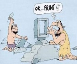Pierwsza drukarka