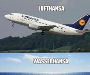 Lufthansa inaczej