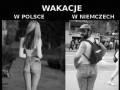 Wakacje Polska vs. Niemcy