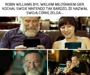 Robin Williams to był dopiero geek