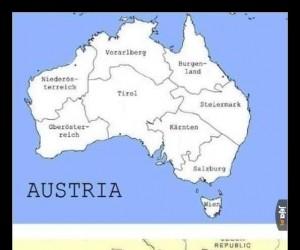 Austria to nie Australia