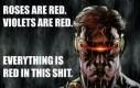 Tyle czerwieni...