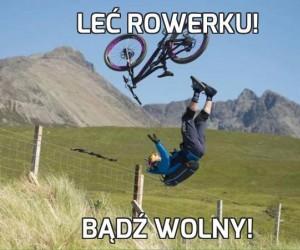 Leć rowerku!