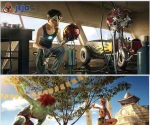 Bohaterowie w wersji animowanej