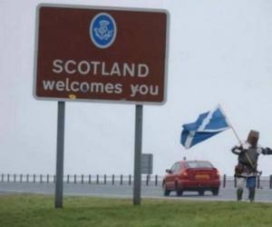 Szkocja wita gości!
