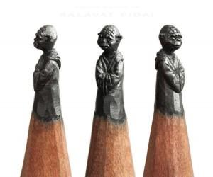 Precyzyjne rzeźbienie w ołówkach