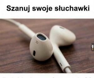 Serio, szanuj słuchawki