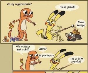 Alternatywne użycie Pokemonów
