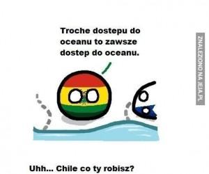 Chile lubi wybrzeża!