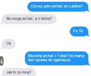 Podróż do Lublina