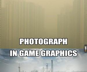Zdjęcie vs. grafika z gry
