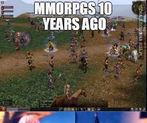 MMORPG kiedyś i dziś