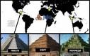 Piramidy w Meksyku, Egipcie i Indonezji