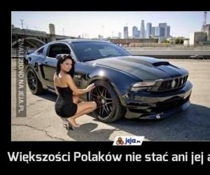 Większości Polaków nie stać ani jej ani jego