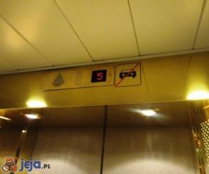 Zakaz wjazdu do windy