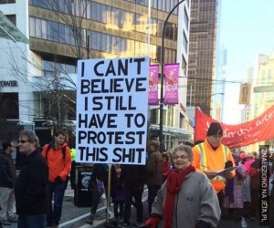 Wygrała protest