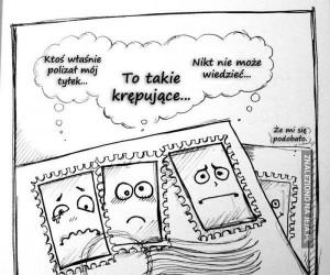 Milczenie znaczków