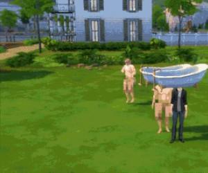 Gdy przegniesz z modami do Simsów