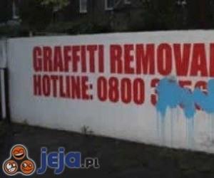 Usuwanie graffiti
