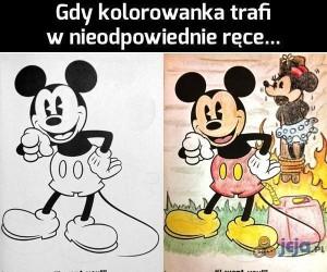 Gdy kolorowanka trafi w nieodpowiednie ręce... cz. 2