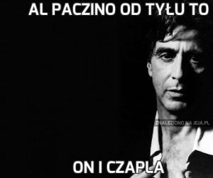 Al Paczino od tyłu to