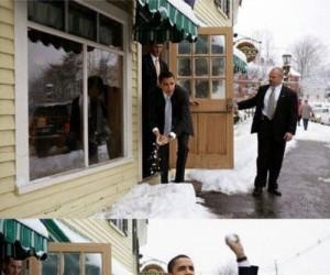 Obama zimą