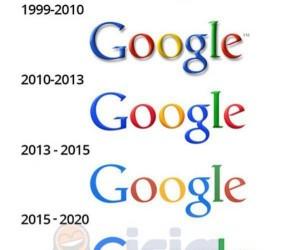 Ewolucja loga Google
