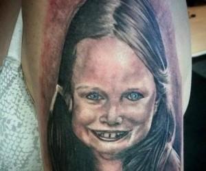 Kolejny realistyczny tatuaż