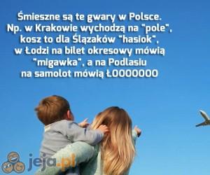 Język polski jest bardzo różnorodny