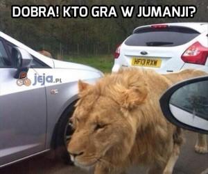 Dobra! Kto gra w Jumanji?