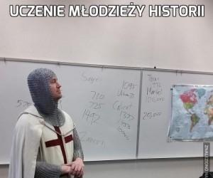 Uczenie młodzieży historii