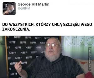 George R. R. Martin ma w dupie Wasze żale!