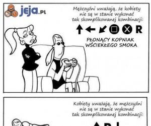 Walka płci: skomplikowane kombinacje