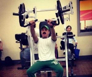 Luigi trenuje