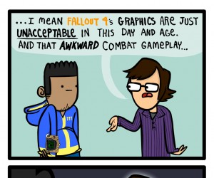Typowa reakcja fanboyów Fallouta