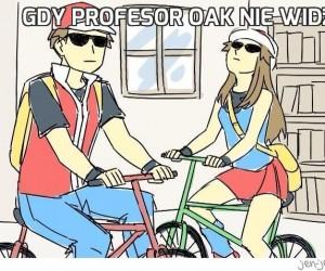 Gdy profesor Oak nie widzi