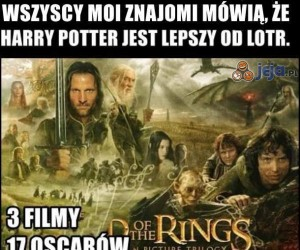 Harry Potter czy LOTR?