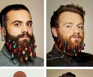 Ozdób swoją brodę na święta