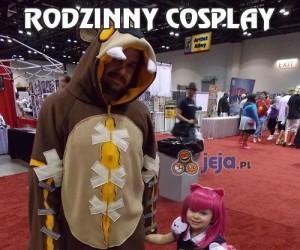 Rodzinny cosplay
