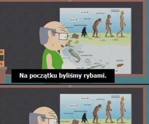 Ewolucja wg South Park
