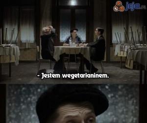 Jestem wegetarianinem