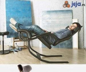 Idealne krzesło