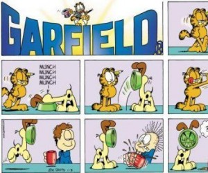 Garfield, czyli klasyk trollingu